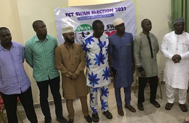 SWAN North Central congratulates new FCT chapter exco, as NAN staff emerges Fin. Sec.