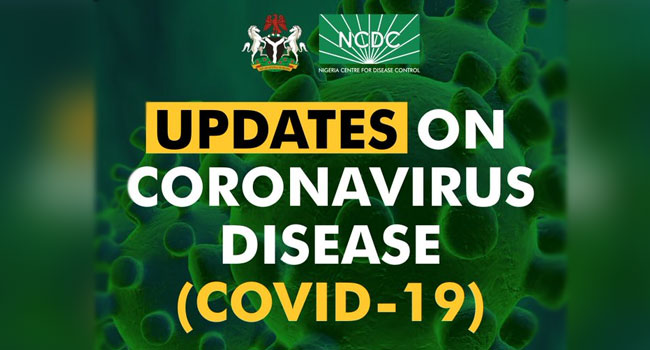 COVID -19: Nigeria reports 617 new infections, total now 72,757