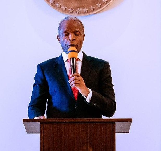 Creating enabling environment key to boosting local investment  Osinbajo