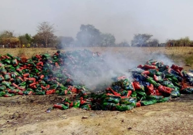NSCDC destroys N8m worth fake products Kano