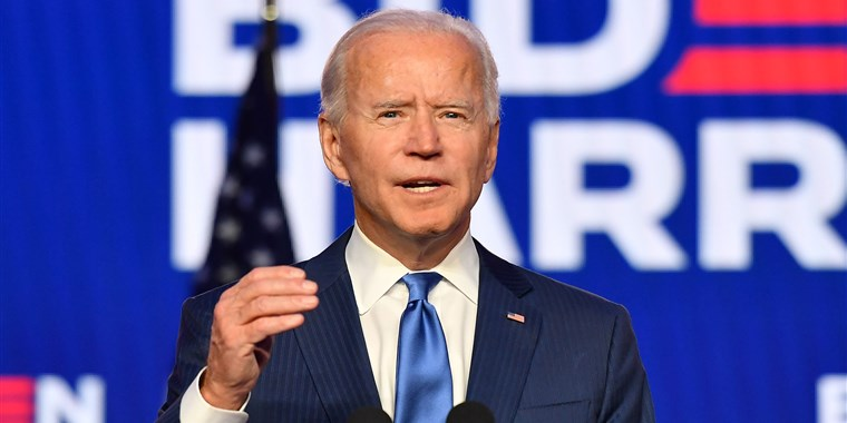 Biden to Trump: Time to respect the peoples will