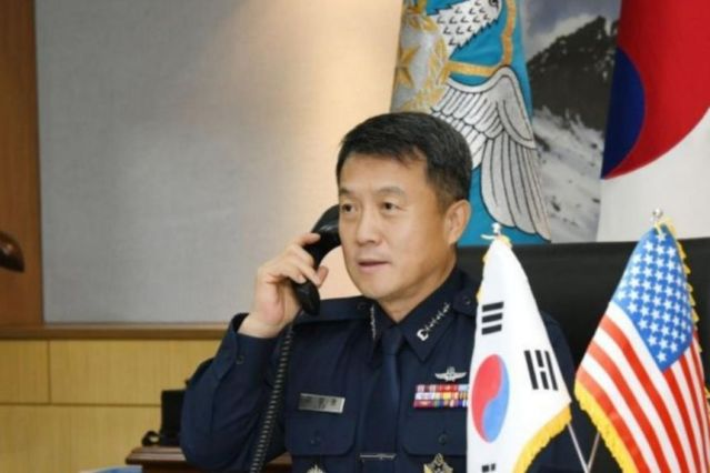 South Koreas Air force chief resigns after death of female officer