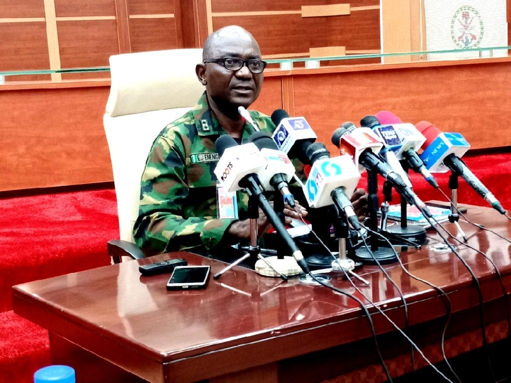 Military destroys terrorists logistics base in Borno