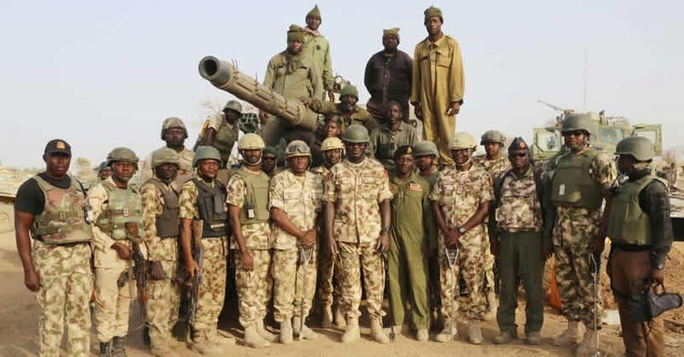 Army rescues kidnapped victims, recovers weapons in 3 states