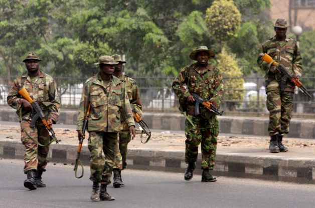 How soldiers arrested 27 suspected cult members in Jos
