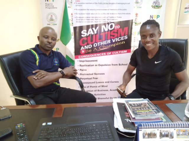 FIFA Referee urges youths to be focused, dedicated to goals in life