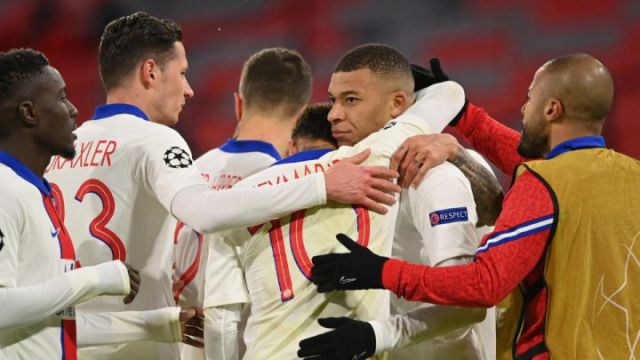 Mbappe brace helps PSG to thrilling win at Bayern Munich