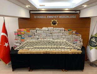 Turkish Police seize 420kg of drugs at Istanbul airport